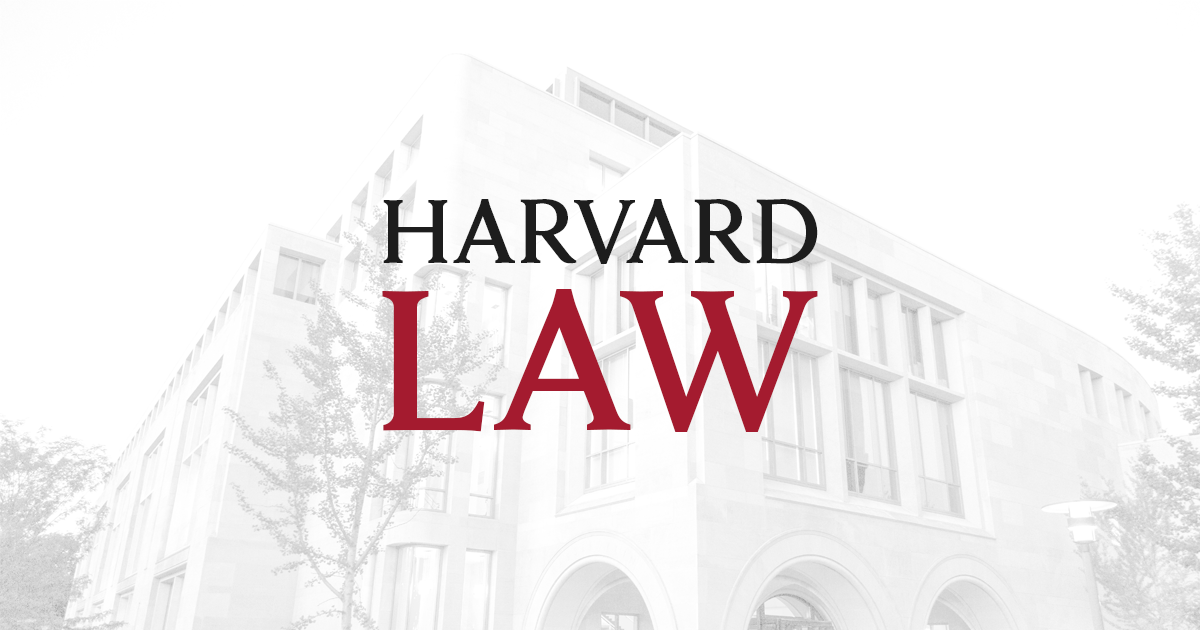 Harvard law admissions resume