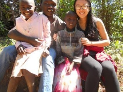 2015 Chayes Fellow Lan Mei '17 in Kenya