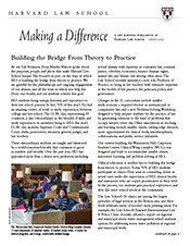 HLS Making A Difference cover May 2015