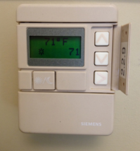 how to set old thermostat