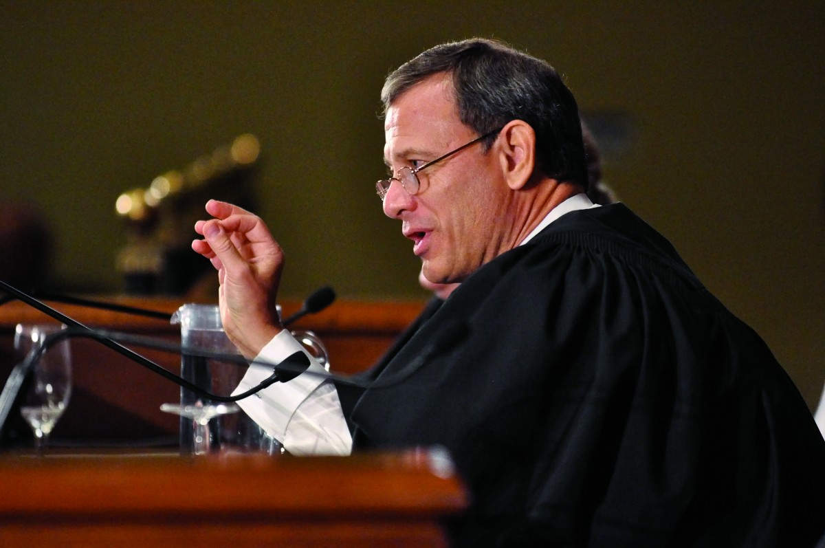 John Roberts '79, Chief Justice of the United States