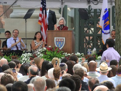 Martha Minow speaking at HLS Class Day