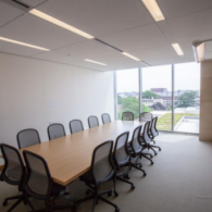 WCC 4062, a boardroom located on the fourth floor of Wasserstein Hall.