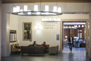 Inside Caspersen Student Center