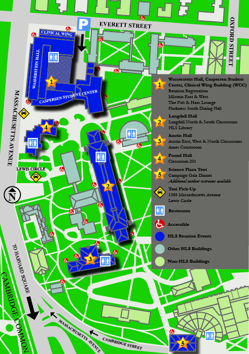 Images of Harvard University Campus Map 2017 - industrious.info