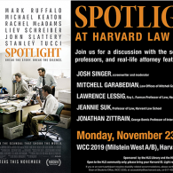 HLS Library and Dean of Students Host Spotlight Panel