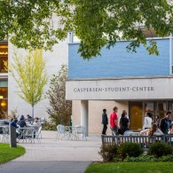 Exterior of Caspersen Student Center
