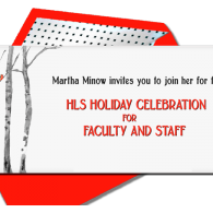 HLS Holiday Celebration for Faculty and Staff