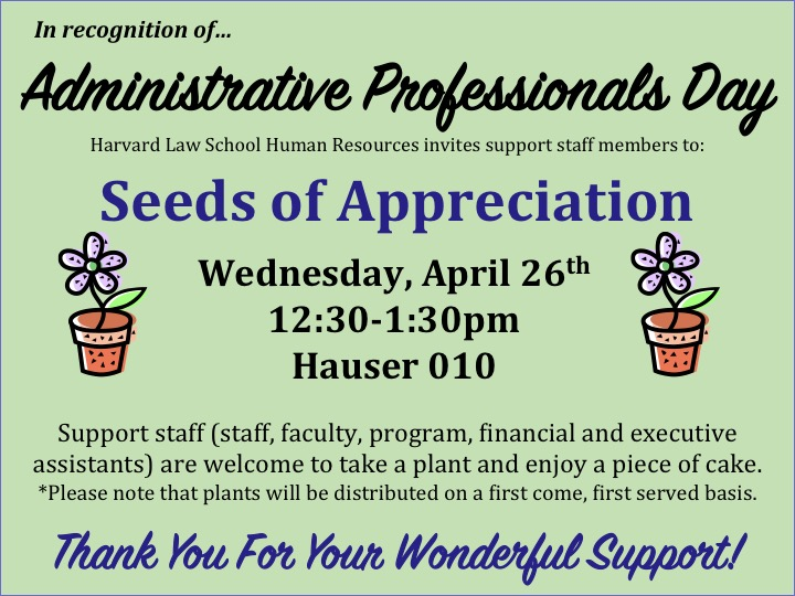 Seeds of Appreciation
