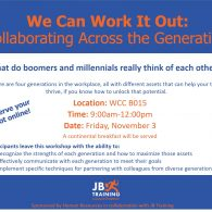 We Can Work it Out: Collaborating Across the Generations