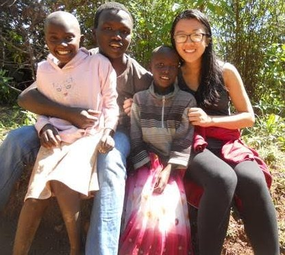 Chayes Fellow Lan Mei '17 in Kenya