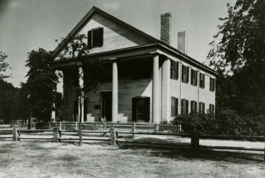 Historical image of Gannett House in 1931