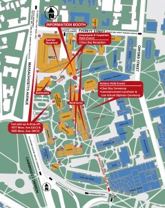 Map of Harvard Law School Campus
