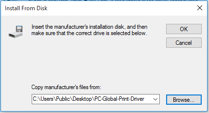 win10 Add printer dialog box 4