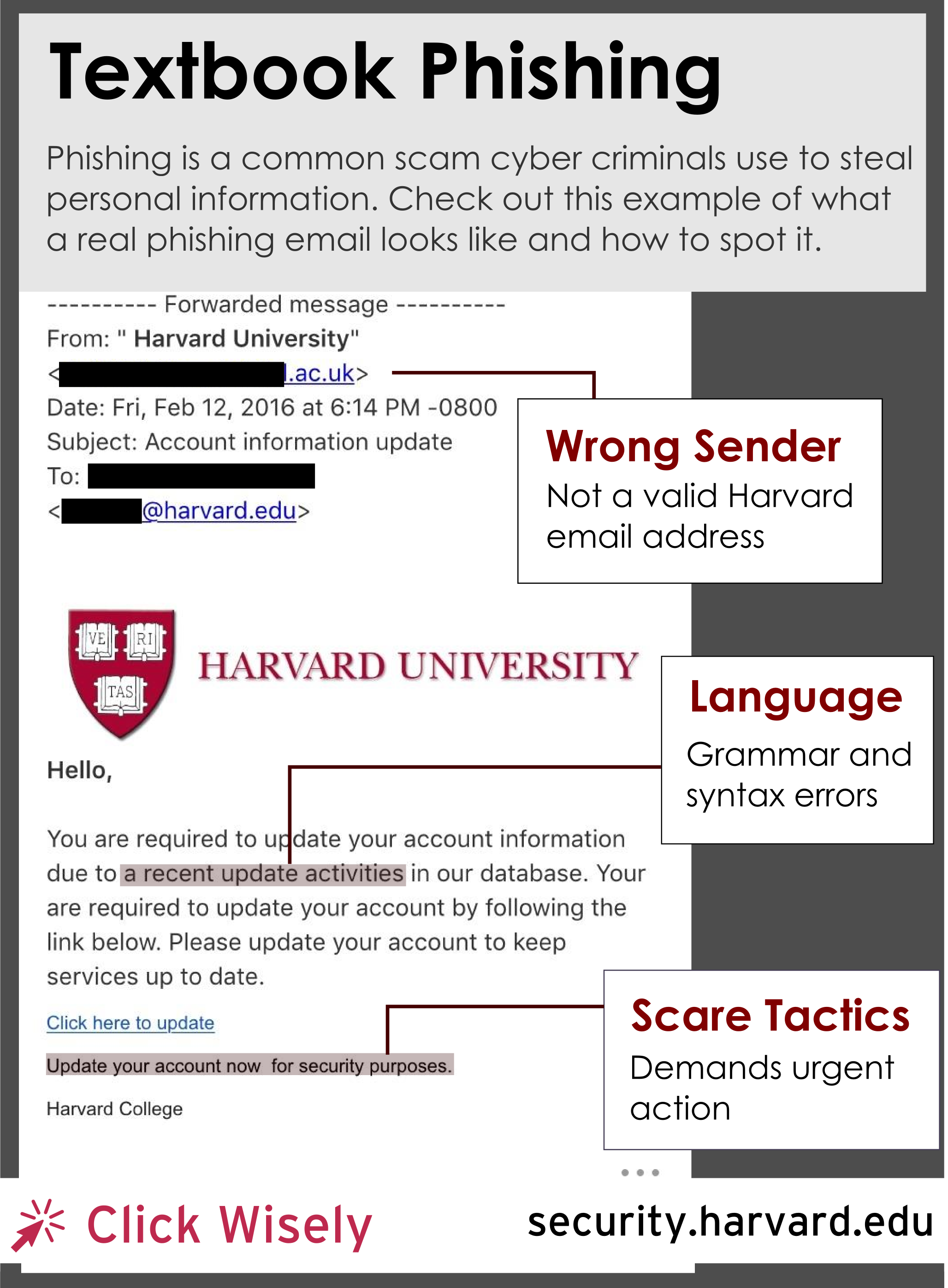 Textbook Phishing | Harvard Law School