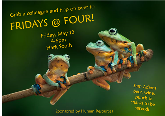 Hop on over to Fridays at Four