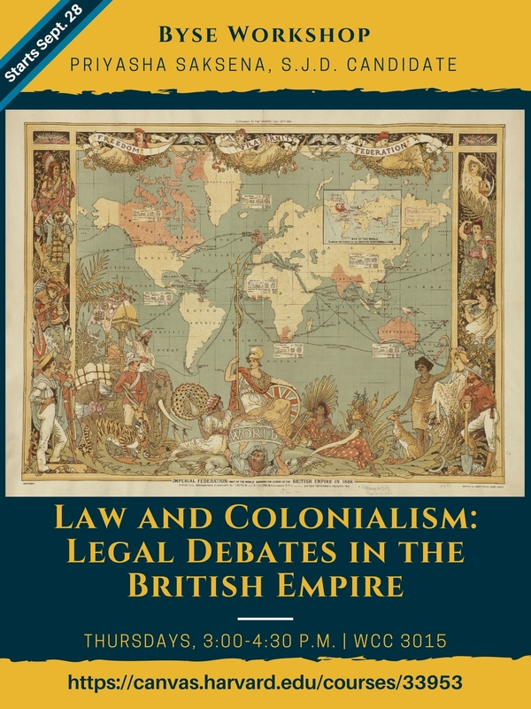 Byse workshop law and colonialism legal debates in the british byse workshop law and colonialism legal debates in the british empire harvard law school gumiabroncs Choice Image