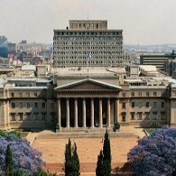 A view of the campus of the University of the Witswatersrand
