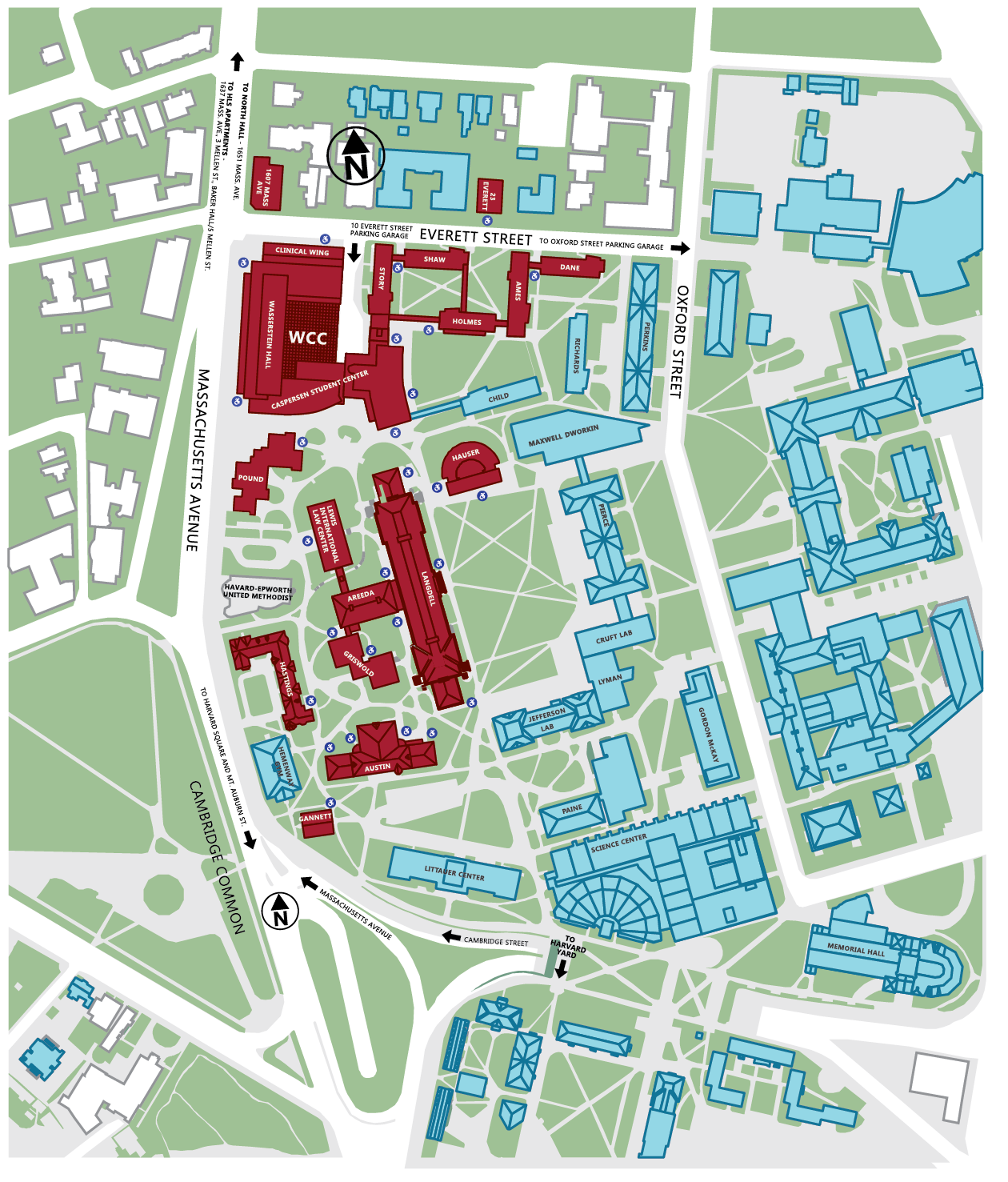 HLS Campus Map