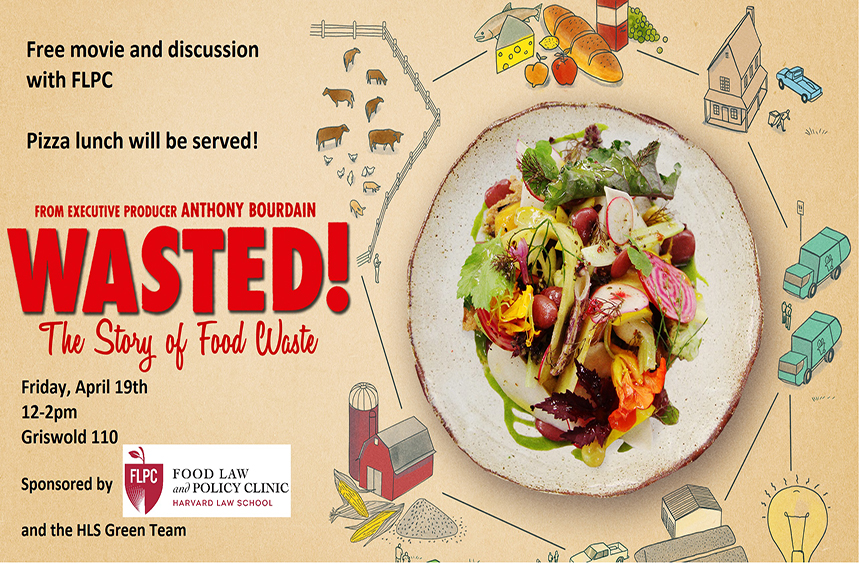 Wasted! The Story of Food Waste – film viewing and discussion