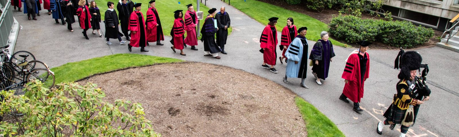 High-level view of bagpiper and HLS faculty and grads processing.