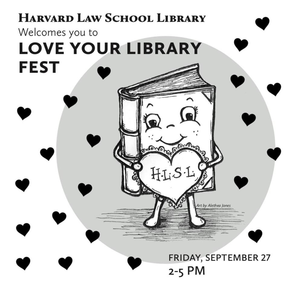 Love your Library Fest poster.