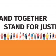 Stand Together, Stand for Justice.