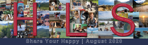 Collage of pictures submitted by staff for Share Your Happy