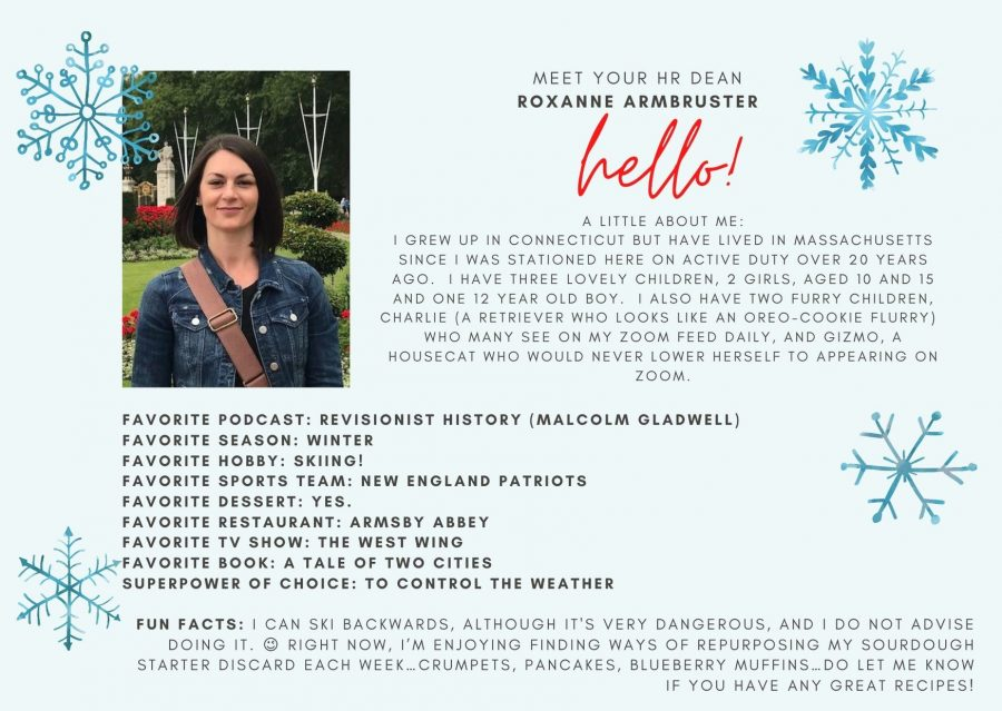 Introductory Card for Roxanne Armbruster
