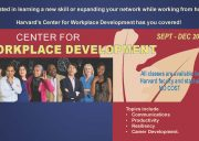 Center for Workplace Development poster