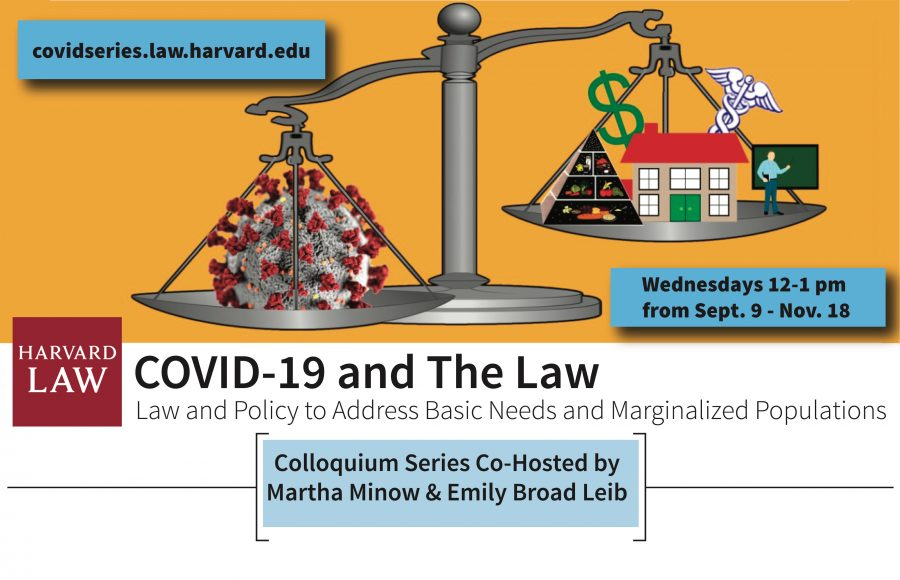 Covid lecture series poster