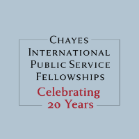 Chayes International Public Service Fellowships Celebrating 20 Years