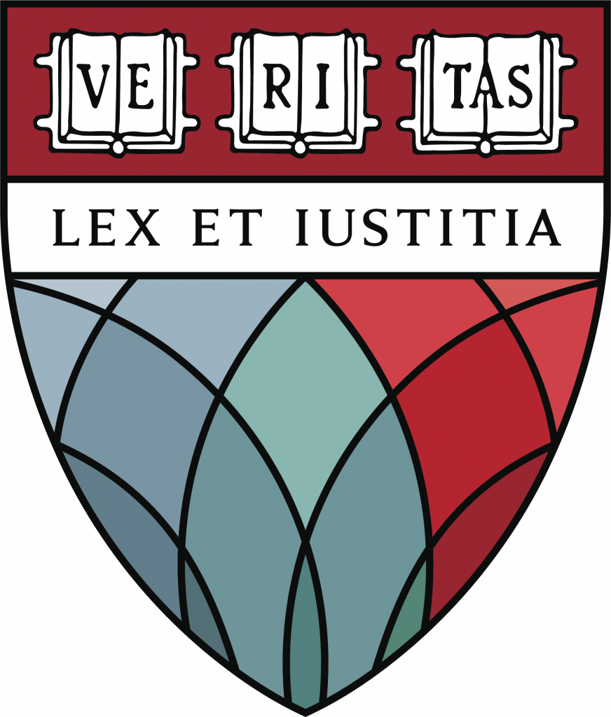 Harvard Law School shield limited use colorful version